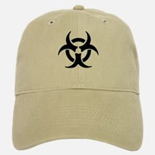 Biohazard Symbol Baseball Baseball Cap