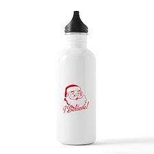 Dear Santa, I Can Explain EVERYTHING! Water Bottle