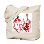 Bitch She Devil Toon Tote Bag