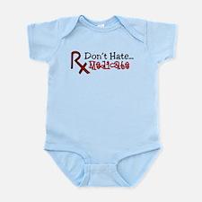 Medicate Infant Bodysuit