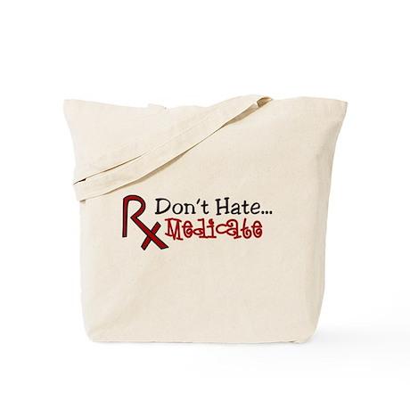 Medicate Tote Bag