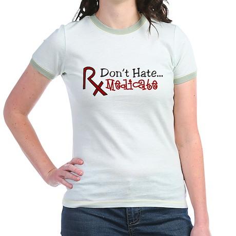 Medicate Jr. Ringer T-Shirt