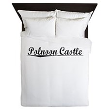 Polnoon Castle, Aged, Queen Duvet