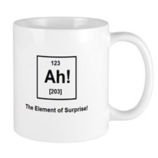 The Element of Surprise Small Mug