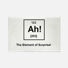 The Element of Surprise Rectangle Magnet