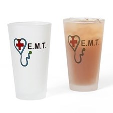 E.M.T. Drinking Glass