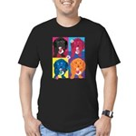 KIMSHOP.png Men's Fitted T-Shirt (dark)