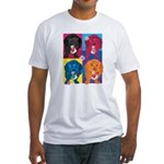 KIMSHOP.png Fitted T-Shirt