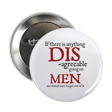 Jane Austen Disagreeable Men Button
