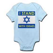 Stand with Israel Infant Bodysuit