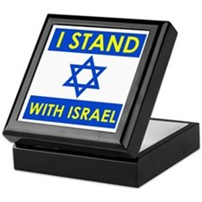 Stand with Israel Keepsake Box