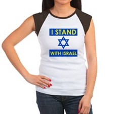 Stand with Israel Women's Cap Sleeve T-Shirt