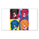 KIMSHOP.png Sticker (Rectangle)