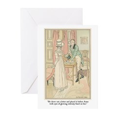 Jane Austen Entreaty Greeting Cards (Pack of 6)