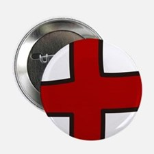 "Red Cross 2.25"" Button"