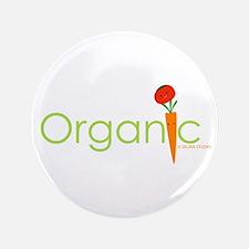 """""""Organic Fun"""" 3.5"""" Button"""