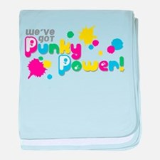 Punky Power baby blanket