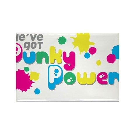 Punky Power Rectangle Magnet