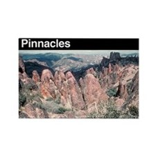 Pinnacles National Monument Rectangle Magnet
