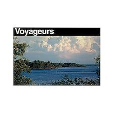 Voyageurs National Park Rectangle Magnet