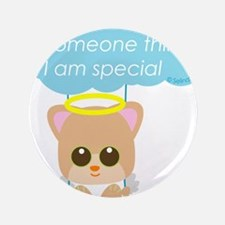 """hamster angel.png 3.5"""" Button"""