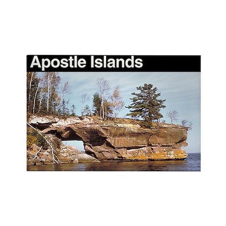 Apostle Islands National Seashore Rectangle Magnet