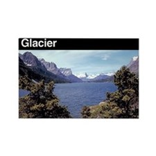 Glacier National Park Rectangle Magnet