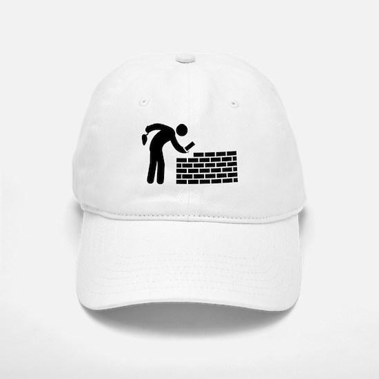 Bricklayer Baseball Baseball Cap