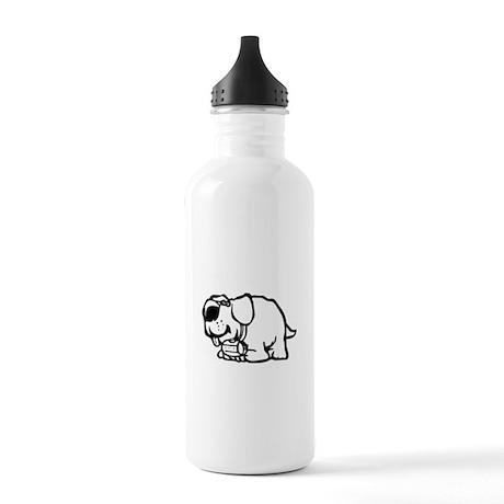 Goofy St. Bernard Dog Stainless Water Bottle 1.0L
