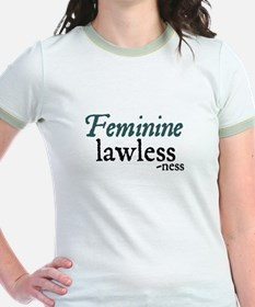 Lawlessness Women's Ringer T-Shirt