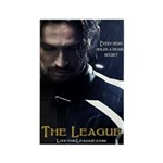 League Hero Rectangle Magnet (10 pack)