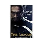 League Hero Rectangle Magnet