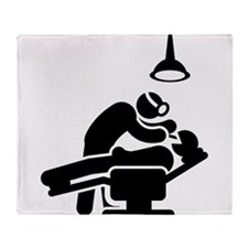Dentist Throw Blanket