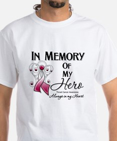 In Memory Throat Cancer Shirt
