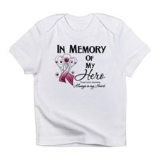 In Memory Throat Cancer Infant T-Shirt