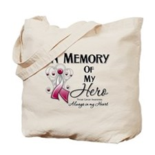 In Memory Throat Cancer Tote Bag