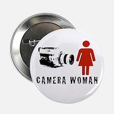 """Camera Woman"" Button by TJP"