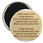 HopeAndLovePoem.jpg Magnet