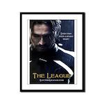 League Hero Framed Panel Print