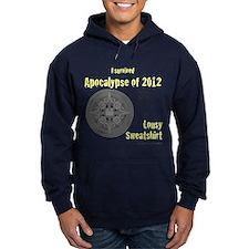 Apocalypse Survivors Sweatshirt-yellow(dark) Hoodi