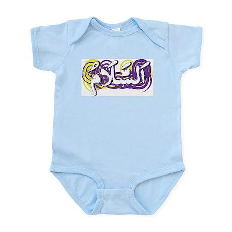 Peace (Arabic) Infant Creeper