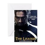 League Hero Greeting Card