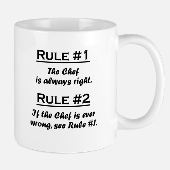 Rule Chef Mugs