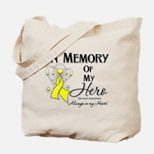 In Memory Hero Sarcoma Tote Bag