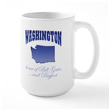 """Washington/Bigfoot"" Mug"