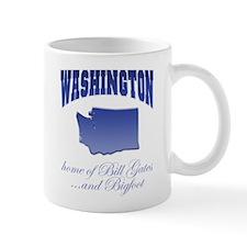 """""""Washington/Bigfoot"""" Small Mug"""