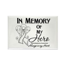 In Memory Retinoblastoma Rectangle Magnet