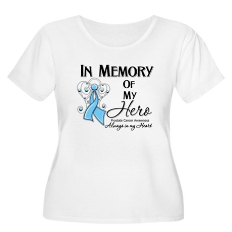 In Memory Prostate Cancer Women's Plus Size Scoop