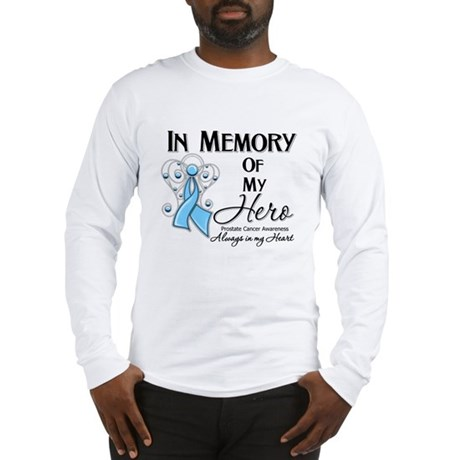 In Memory Prostate Cancer Long Sleeve T-Shirt