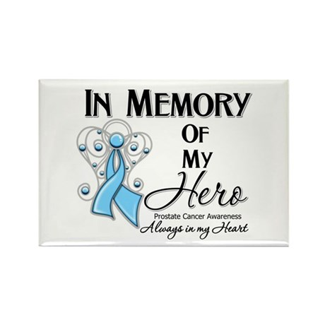 In Memory Prostate Cancer Rectangle Magnet (100 pa